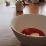 munakata cuisine ishida - デザート器横から