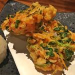 あわい - 桜海老と三つ葉のかき揚げ