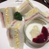 グルメ - 料理写真:ハムたまごサラダセット