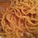 66758559 - 味噌ラーメンの麺