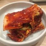 蘭 - 白菜キムチ