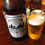 日田まぶし千屋 - 瓶ビール