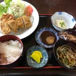 神宮前茶屋 - 黒豚ヒレカツ定食