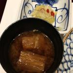 66759265 - 味噌汁☆★★☆茄子