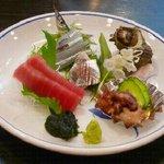 江戸前きよ寿司 - 宴会4千円コース(冬Ve.)の刺身