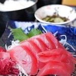 大津漁協直営市場食堂 - まぐろ定食