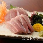 和食や むね - 焼津から直送される新鮮なインドマグロ!『鮪の刺身』