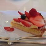 カフェ プラド - いちごのタルト