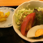 酒蔵松竹 - サラダも付く
