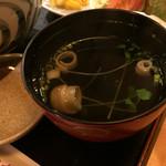 酒蔵松竹 - 吸物です