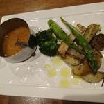 66762674 - 焼き野菜のバーニャカウダ