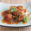 鶏肉の唐揚げ、アジアン風味