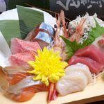 西蒲田横丁 - 大西鮮魚店の刺し盛り2~3人前