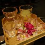 星野リゾート 界 津軽 - 2017.05 ホテルのお祝いの冷酒