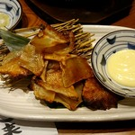 まるごと北海道花の舞 十勝ファーム - 「炙りエイヒレ」