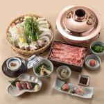 あづま - 料理写真:国産和牛しゃぶしゃぶ会席