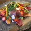 イタリアンバル SAMURAI - 料理写真:ディナーコースの季節の食材を使った前菜。