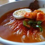 焼肉・冷麺ヤマト 北上店 - 料理写真:Aセットのミニ冷麺
