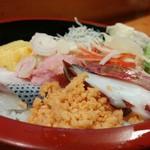 福和寿司 - ランチちらし寿司500円