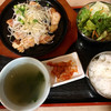 韓香家 - 料理写真:香潤とり鉄板焼き定食(850円)