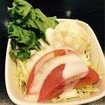 ベル・ヴィル - ランチセットのサラダ
