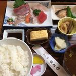 びんび - 刺身ランチ(税込750円)(2017.05現在)