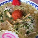 龍上海 - 料理写真:(2017-5-9)  赤湯からみそラーメン 830円