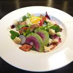 Cafe and Bar on℃ -温度- - 日替わり野菜のシーザーサラダ
