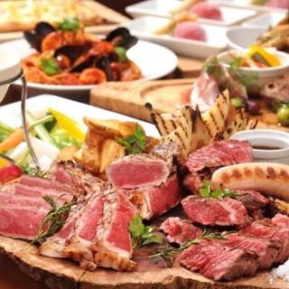 産地直送の食材を使用した宴会コースをご提供します