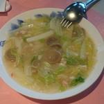 66787736 - 白菜と蟹と卵白のうま煮