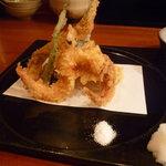 銀平 - ☆お塩と大根おろし&天つゆでパクリ(*^。^*)☆