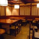 銀平 - ☆テーブル席も広々です(^o^)/☆