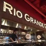 リオグランデグリル - ライブ感のある厨房!