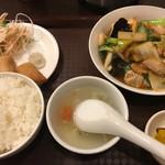 中国料理 天祥 - ランチ @680-