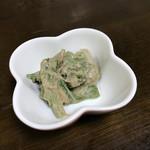 増田屋 - 料理写真:山うどの胡麻和え