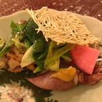 おもてなし茶屋 咲扇 - 鰆の幽庵焼き、ホタルイカの酢味噌、