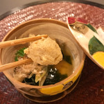 おもてなし茶屋 咲扇 - 若竹煮と鴨つみれ