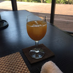 月の花 梟 - オレンジジュース
