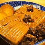 よしたろう - 煮込み肉豆腐玉子付