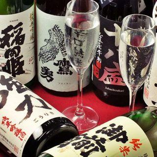 鳥取、岡山の地酒に酔いしれる夜
