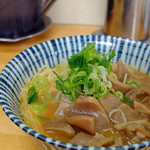 せせらぎ食堂 - 料理写真:すじ肉ラーメン