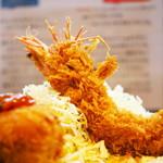 66807498 - 海老クリームコロッケ+海老フライ定食