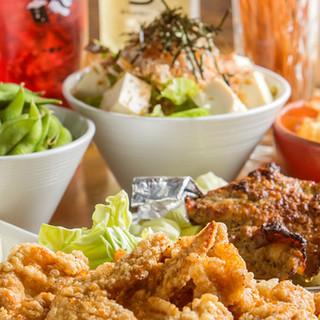 激うまチキンの宴会コースは3480円~!各種宴会・飲み会に!