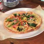 66809219 - ベーコンのピザ