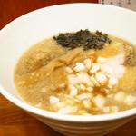 麺鯉 - 背脂煮干しラーメン(塩)750円