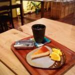 器とカフェと・・・扉 - 料理写真: