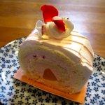 クインズケーキ - ローズロール!