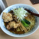 らーめん輝 - 鶏竜ラーメン(醤油)