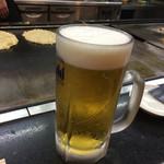 あべとん - 生ビール大〜(´∀、`)/¥669円