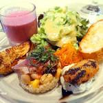 デ・ボン・クール - 前菜の盛り合わせ